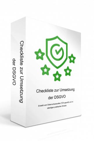 Die umfangreichste DSGVO-Checkliste
