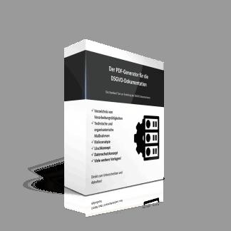 Der Schritt-für-Schritt Generator für die DSGVO Dokumentation.