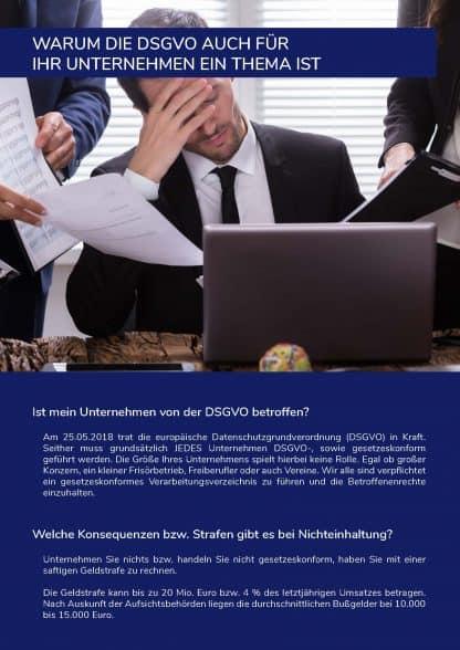 Keine langen Beratungen, einfach DSGVO umsetzen.
