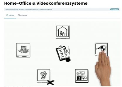 Homeoffice Schulung nach DSGVO.